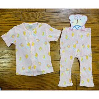 ベビーギャップ(babyGAP)のコットン100% 半袖パジャマ 90 上下セット(パジャマ)