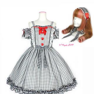 アンジェリックプリティー(Angelic Pretty)のAngelic Pretty Dream HeartJSK ヘッドドレス set(ひざ丈ワンピース)