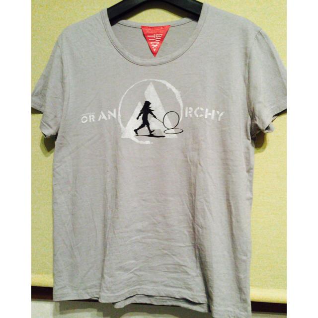 BUCK-TICK ツアーTシャツ TOUR2014或いはアナーキー M グレー メンズのトップス(Tシャツ/カットソー(半袖/袖なし))の商品写真