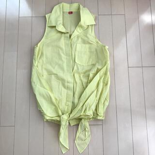 ダブルスタンダードクロージング(DOUBLE STANDARD CLOTHING)のダブルスタンダードクロージング ダブスタ ライム イエロー シャツ(シャツ/ブラウス(半袖/袖なし))