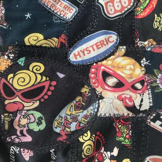 ヒステリックミニ(HYSTERIC MINI)の新品・未使用 ヒスミニ 総柄パッチワーク トートバッグ マザーズバッグ♪(マザーズバッグ)
