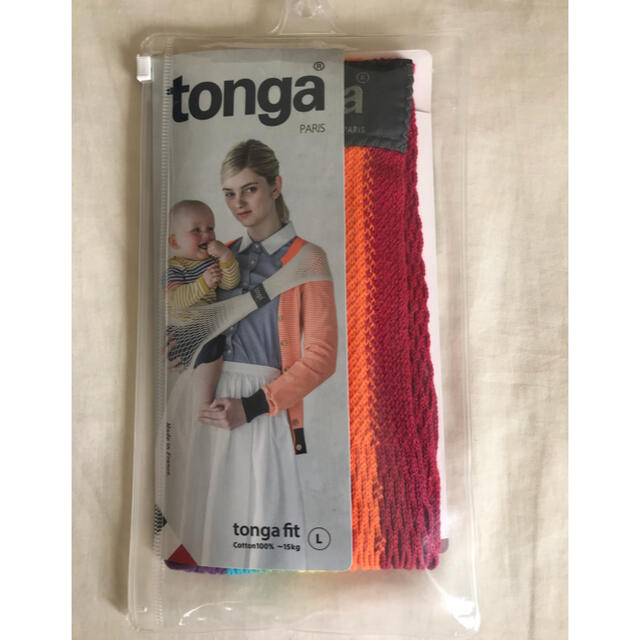 tonga(トンガ)のtonga Lサイズ 抱っこ紐 キッズ/ベビー/マタニティの外出/移動用品(抱っこひも/おんぶひも)の商品写真