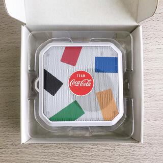 コカコーラ(コカ・コーラ)のコカコーラ コークオン 防水スピーカー ランダム柄 東京オリンピック 2020(スピーカー)