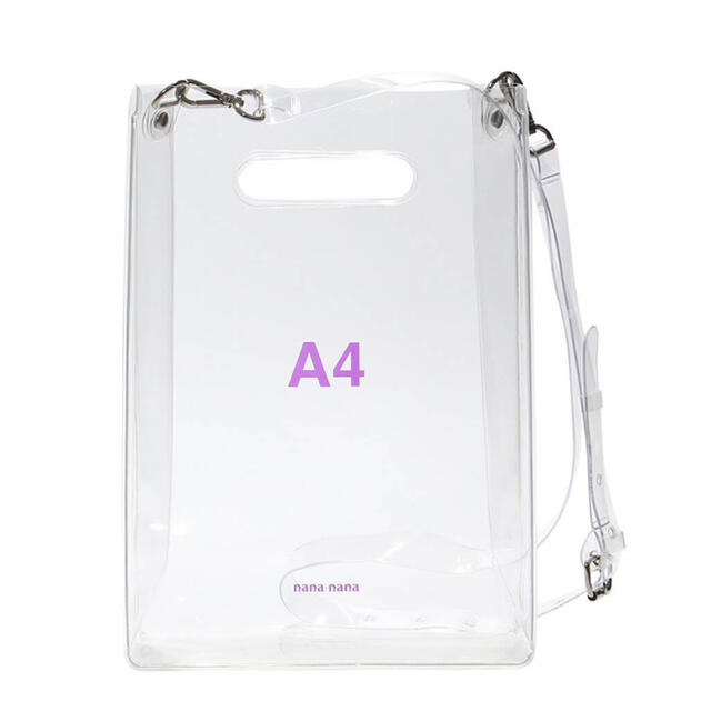 AMBUSH(アンブッシュ)のnana-nana PVC A4 ショルダーバッグ クリア アクリル ナナナナ レディースのバッグ(ショルダーバッグ)の商品写真