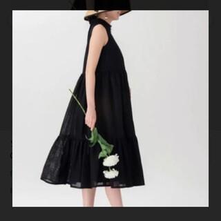 ツルバイマリコオイカワ(TSURU by Mariko Oikawa)のツルバイマリコオイカワ ティアード ワンピース ドレス(ロングワンピース/マキシワンピース)