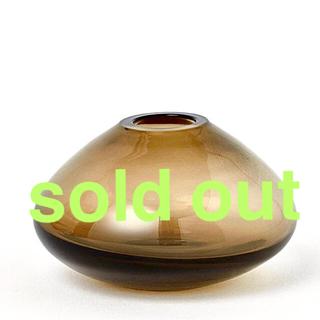 ザラホーム(ZARA HOME)のクリアガラス フラワーベース ミニ 新品未使用 H&M(その他)