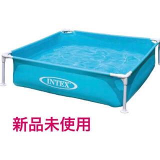 インデックス(INDEX)のINTEX インテックス ミニフレームプール  ブルー 青 (マリン/スイミング)