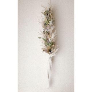 穂と小花のガーランド(ドライフラワー)
