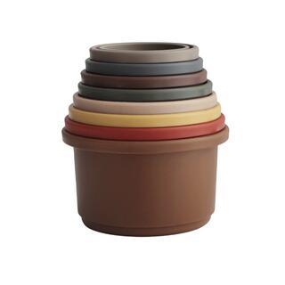 コドモビームス(こども ビームス)のmushie ムシエ / Stacking Cups Toy(Retro)(知育玩具)