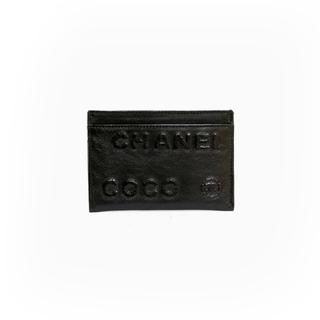 シャネル(CHANEL)の【中古】シャネル CHANEL カードケース COCOマーク ココマーク レザー(パスケース/IDカードホルダー)
