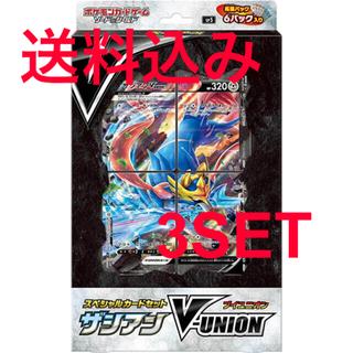 ポケモン(ポケモン)のポケモンカードソード&シールド スペシャルカードセット ザシアンV-UNION (Box/デッキ/パック)