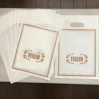 フェイラー(FEILER)のフェイラー ショップ袋 12枚(ショップ袋)
