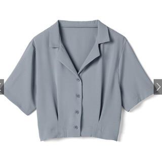 グレイル(GRL)のオープンカラーショートシャツ(シャツ)