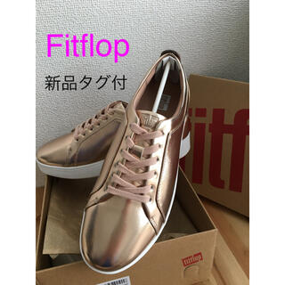 fitflop - 【新品タグ付】Fitflop ピンクゴールド スニーカー