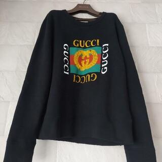 グッチ(Gucci)のGUCCIグッチ☆vintage logoヴィンテージロゴスウェットトレーナー(スウェット)