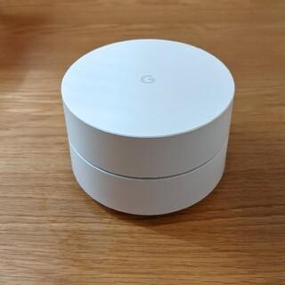 グーグル(Google)の【箱・付属品あり】【美品】google wi-fi ルーター(PC周辺機器)
