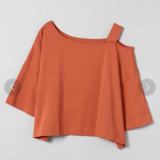 ジーナシス(JEANASIS)のオフショルショートTEE ジーナシス (Tシャツ(半袖/袖なし))