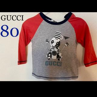 Gucci - ★GUCCIロンTトップス★80cm デザイン性のあるオシャレなトップスです♪