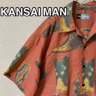 カンサイヤマモト(Kansai Yamamoto)の【KANSAI MAN】山本寛斎 柄シャツ 開襟シャツ(シャツ)