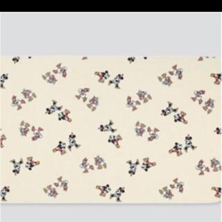 ユニクロ(UNIQLO)のユニクロ ミッキー  ミニー デイジー ドナルド  ブランケット  新品未使用(毛布)