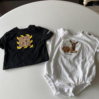 バーバリー(BURBERRY)のBurberry ロンパース、Tシャツセット(Tシャツ)