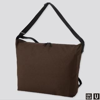 ユニクロ(UNIQLO)のユニクロu UNIQLO Uブロックテックショルダーバッグ試着のみ未使用品(ショルダーバッグ)