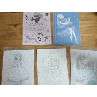 アンジェリックプリティー(Angelic Pretty)のAngelic Pretty ポストカード 5枚セット(写真/ポストカード)