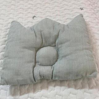 コドモビームス(こども ビームス)のhandmadeベビーピロー BABYクラウン型ストライプ枕(その他)