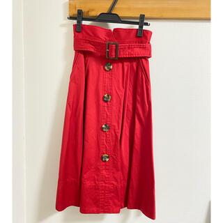 リリーブラウン(Lily Brown)の値下げ リリーブラウン トレンチスカート(ひざ丈スカート)