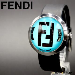 フェンディ(FENDI)の【電池新品】FENDI 8010G FFロゴ ブースラ メンズ 腕時計 付属品(腕時計(アナログ))