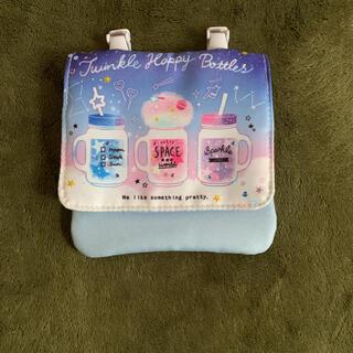 サンリオ(サンリオ)の新品未使用☆ボトル柄 ピンク×ブルー×パープル ポーチ(ポシェット)