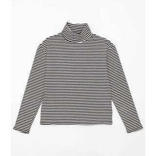 ウィゴー(WEGO)のDING/ボーダーハイネックロンT(Tシャツ(長袖/七分))
