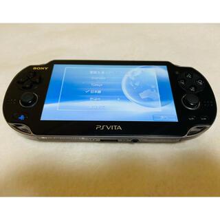 プレイステーションヴィータ(PlayStation Vita)のPlayStation Vita PCH-1000 ZA01 クリスタルブラック(家庭用ゲーム機本体)