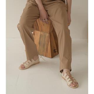 カスタネ(Kastane)のcasual lace up sandal(サンダル)
