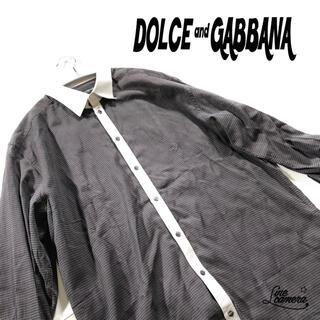 ドルチェアンドガッバーナ(DOLCE&GABBANA)のドルチェ&ガッパーナ シャツ 長袖 柄シャツ 総柄 サイズ 17/43(シャツ)