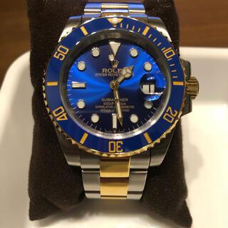 ロレックス(ROLEX)のロレックス サブマリーナ 青コンビ オマージュ ノベルティ品 腕時計 良品(その他)