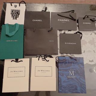 シャネル(CHANEL)のCHANEL JoMALONE Valextra ブランド ショップ袋(ショップ袋)