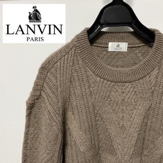 ランバン(LANVIN)のランバンクラシック【lanvin】ニット セーター ウール ゆったり アルパカ混(ニット/セーター)