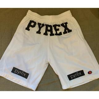 OFF-WHITE - Pyrex champion メッシュハーフパンツ