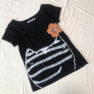 ツモリチサト(TSUMORI CHISATO)のツモリチサト cats Tシャツ M(Tシャツ(半袖/袖なし))