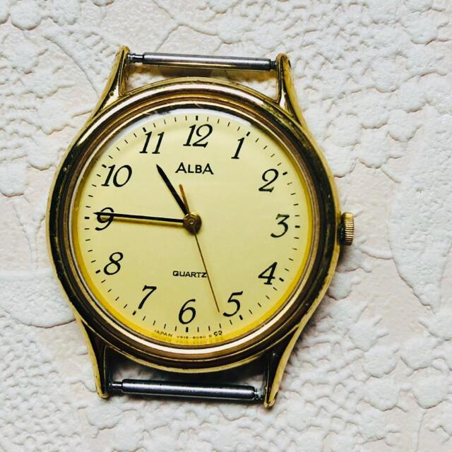 ALBA(アルバ)のセイコーALBAアルバクォーツ腕時計本体のみ メンズの時計(腕時計(アナログ))の商品写真