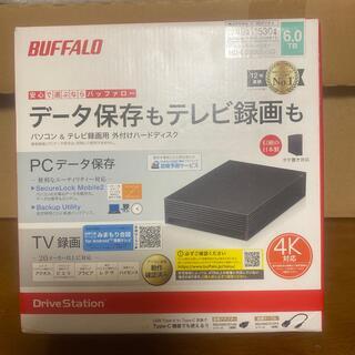 バッファロー(Buffalo)のBUFFALO パソコン&テレビ録画用 外付けHDD 6TB  (その他)