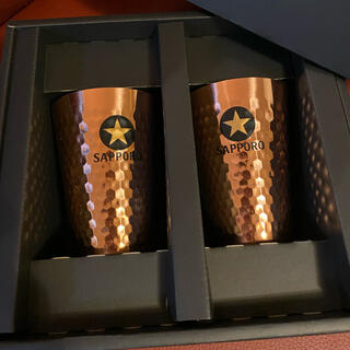 サッポロ(サッポロ)のサッポロ黒ラベル 純銅ビアタンブラー(アルコールグッズ)