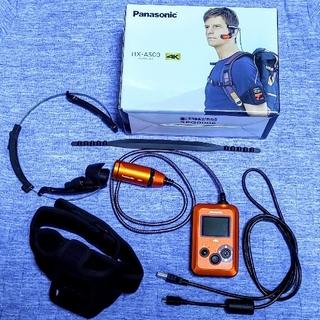 Panasonic - 【美品】アクションカメラ Panasonic HX-A500 ウェアラブルカメラ