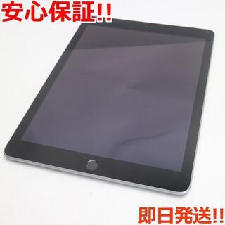 アップル(Apple)の美品 SOFTBANK iPad 第5世代 32GB グレイ (タブレット)