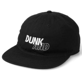 シー(SEA)のスニダン★SNKR DUNK X WDS (DUNK) CAP / BLACK(キャップ)