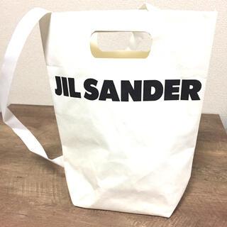 ジルサンダー(Jil Sander)の美品 JIL SANDER ジルサンダー ショッパー ショッピングバッグ(トートバッグ)