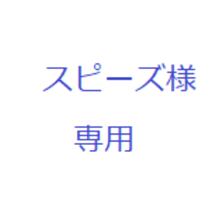 スピーズ様専用(ポップス/ロック(洋楽))
