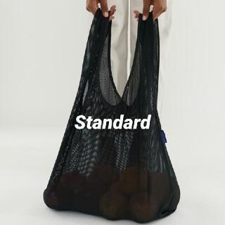 BAGGU エコバッグ スタンダード メッシュ ブラック 新品未使用(エコバッグ)