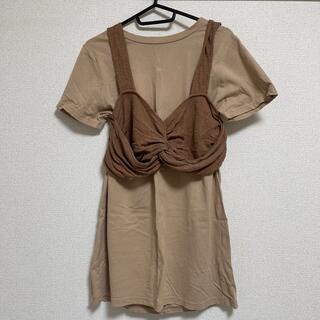ヘザー(heather)のトップス(Tシャツ(半袖/袖なし))
